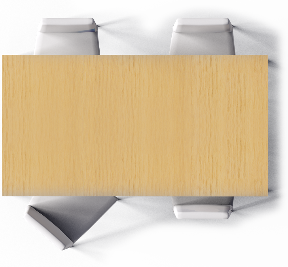 dinner vector table top