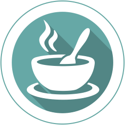 Dinner vector breakfast lunch. Soup icon myiconfinder snack
