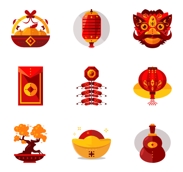 Dinner vector chinese new year. Pinterest icons logos and