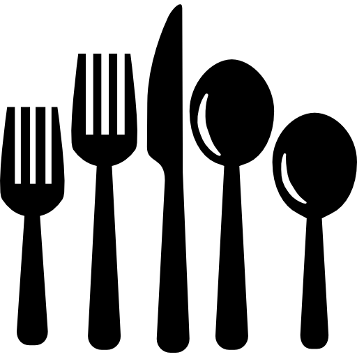 Cutlery vector eating. Set of tools icons