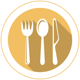 Vector spoon eating. Spoons icon myiconfinder