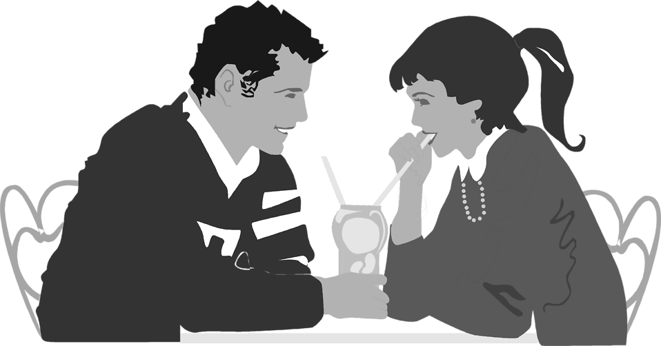 Dinner vector date. Collection of free dining