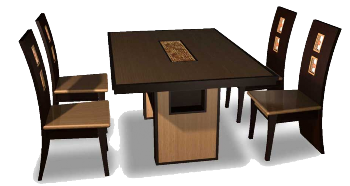 Vector furniture linear. Dining table png clipart