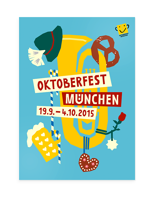 Oktoberfest vector print. Is right around the
