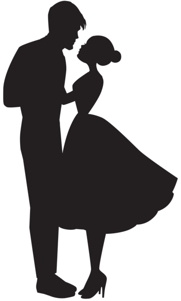 Dino couple png. Love silhouette clip art