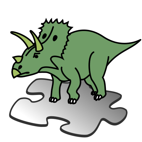 Dino svg. File template wikimedia commons