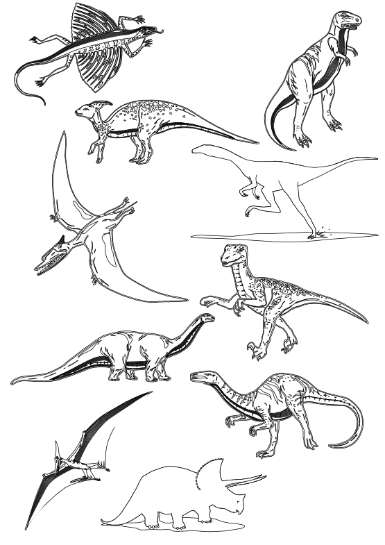 Dinosaurs svg clip art. Clipartist net dinosaur black