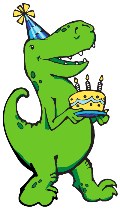 Dinosaur bday 5 png. Birthday party reservation form
