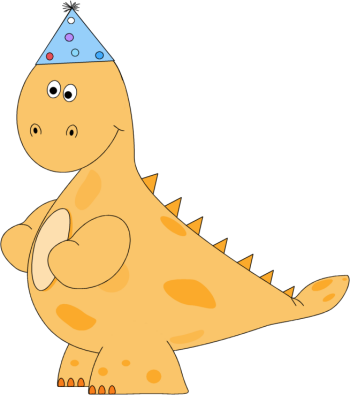 Dinosaur bday 5 png. Child s th or