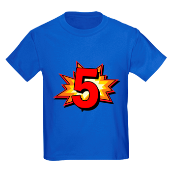 Dinosaur birthday shirt 5 png. Pow happy to the graphic