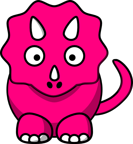 Dinosaurs svg pink. Free pictures of cartoon