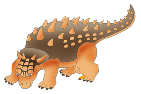 Dinosaur clipart brown. And jokes ankylosaurus