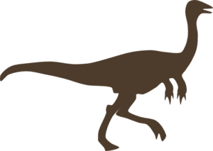 Dinosaur clipart brown. Clip art at clker