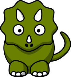 Dinosaur clipart cartoon. Free dinosaurs dragons pinterest