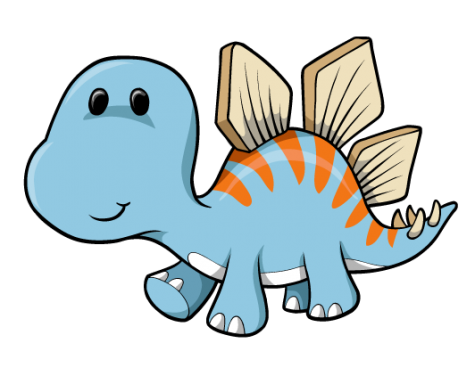 Dinosaur clipart cartoon. Free download baby for