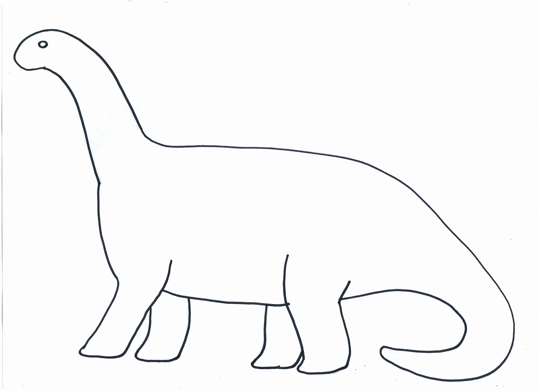 Dinosaur clipart shape. Unique cut out