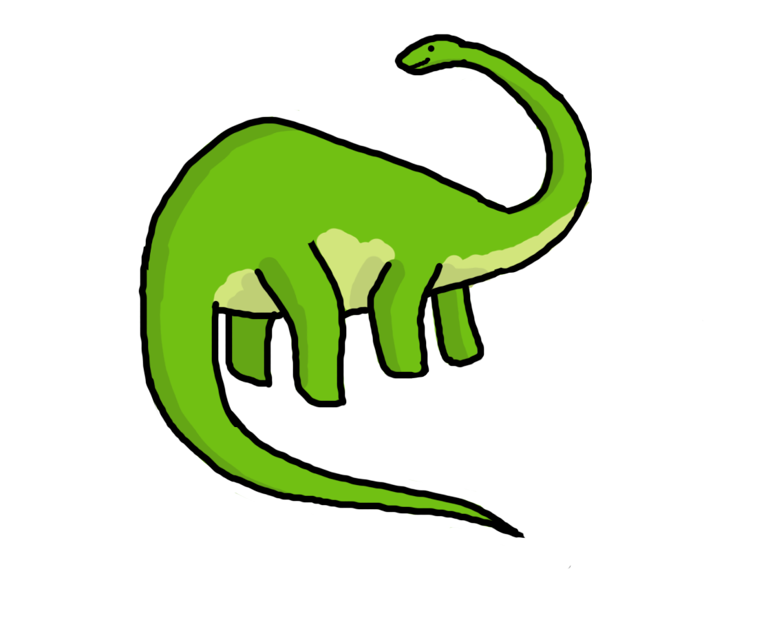 Dinosaur clipart simple. Clip art free for