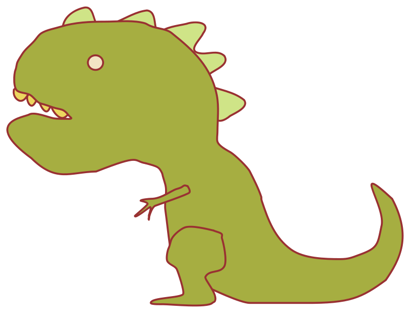 Dinosaur clipart simple. Dinosaurs clip arts for