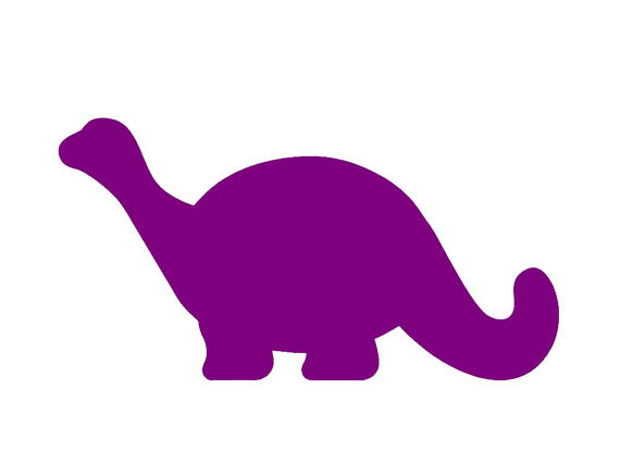 Dinosaur clipart simple. Dino silhouette at getdrawings