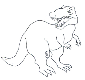 Dinosaur clipart simple. And jokes types of