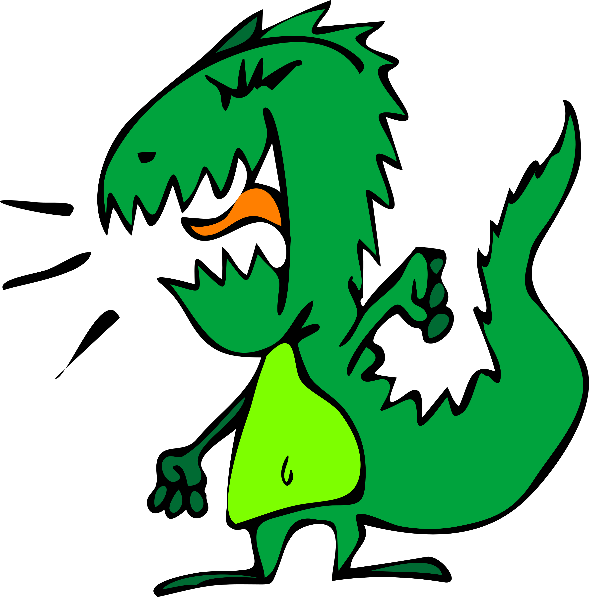 Dinosaurs clipart angry. Clip arts for free