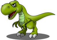 Dinosaurs clipart angry. Clip art t rex