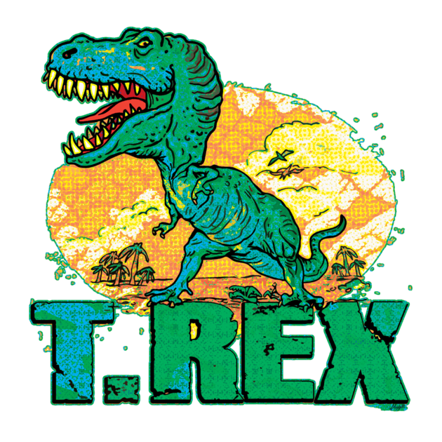 Dinosaurs clipart scene. Cool t shirt featuring