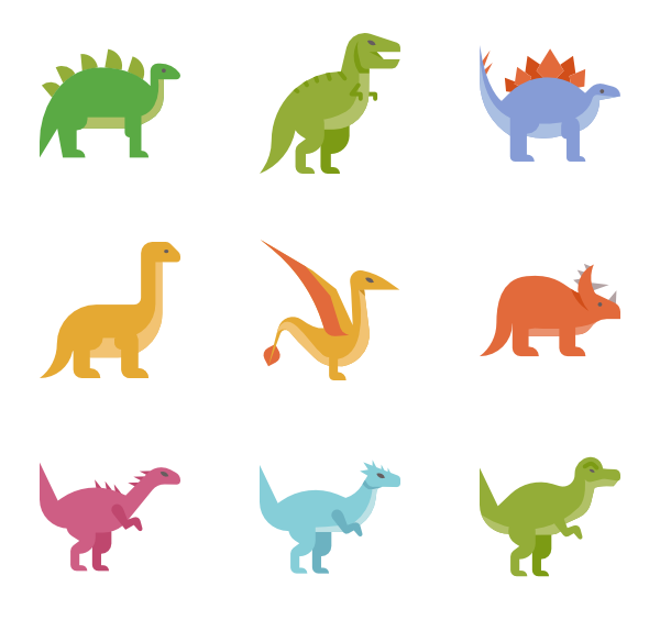 Dinosaurs svg banner. Freeuse library small