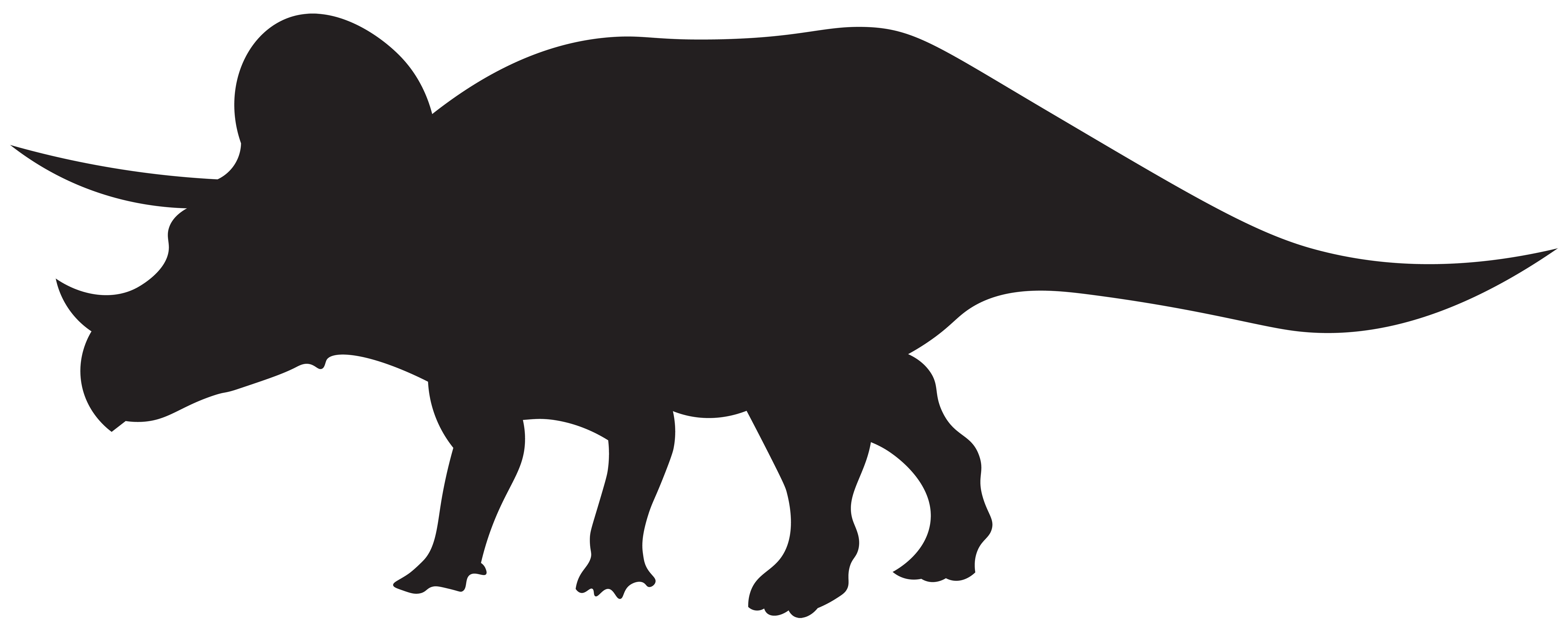 Dinosaurs svg easter. Triceratops silhouette at getdrawings
