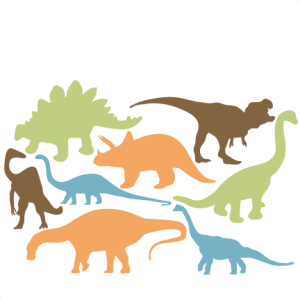 Dinosaurs svg file. Animals pets miss kate