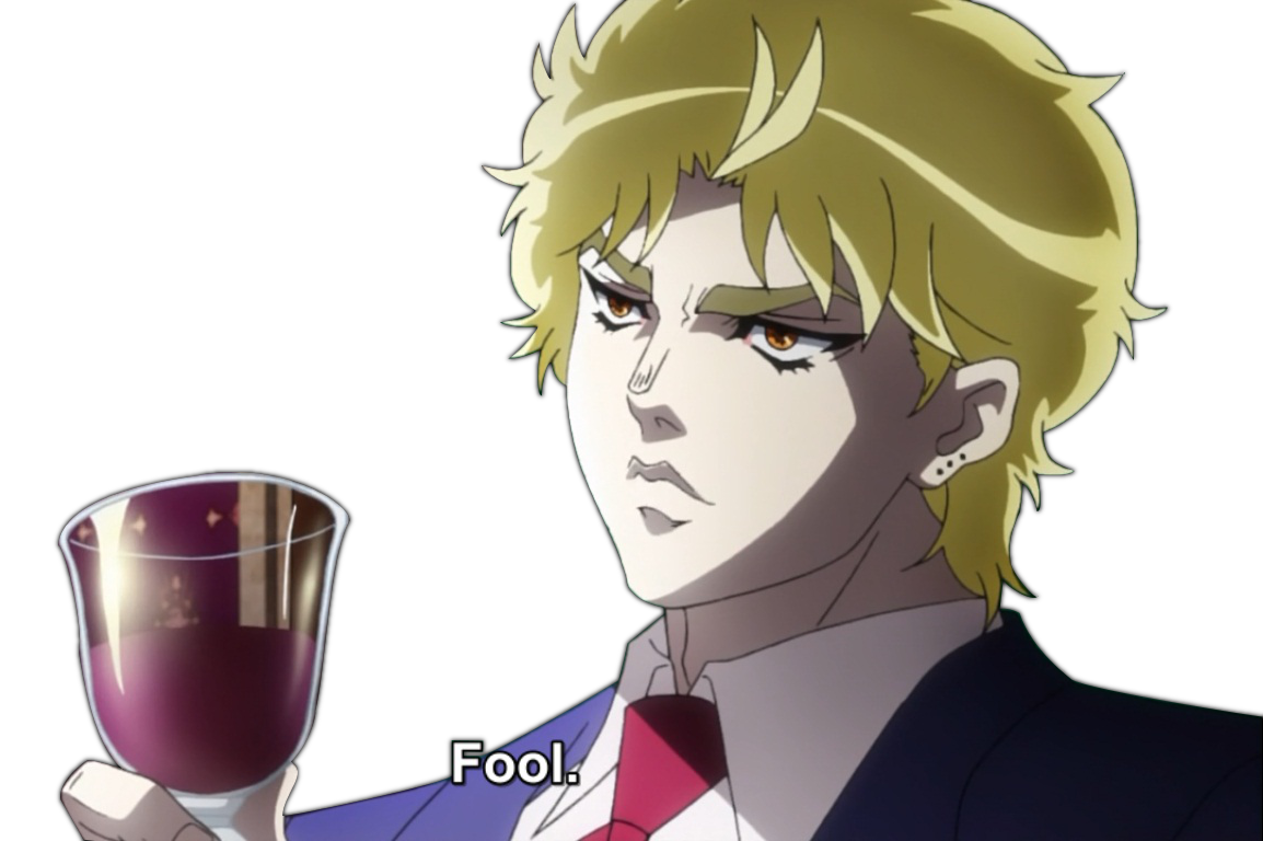 Dio face png. Image brando know your