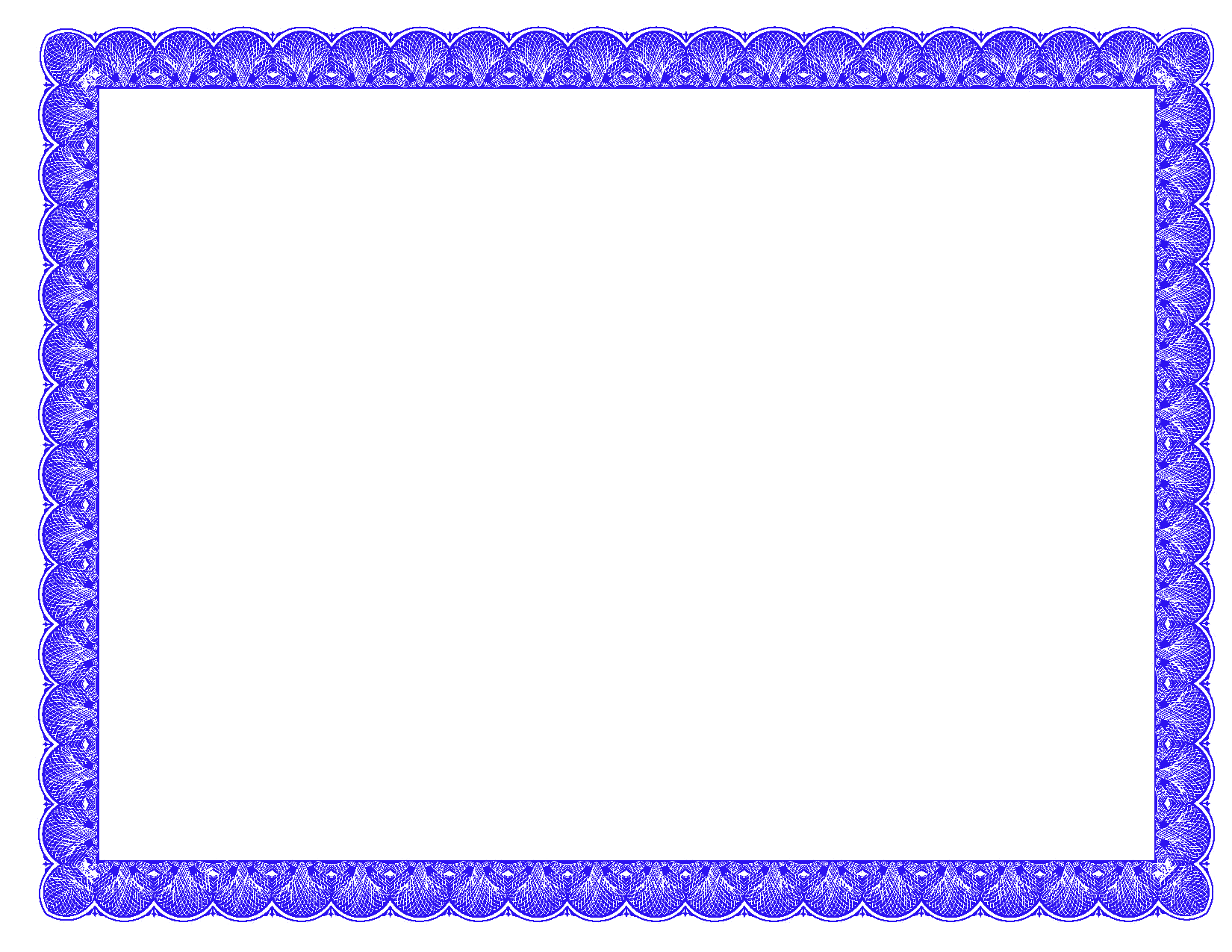 Png certificate borders. Fancy photoshopforums com blue