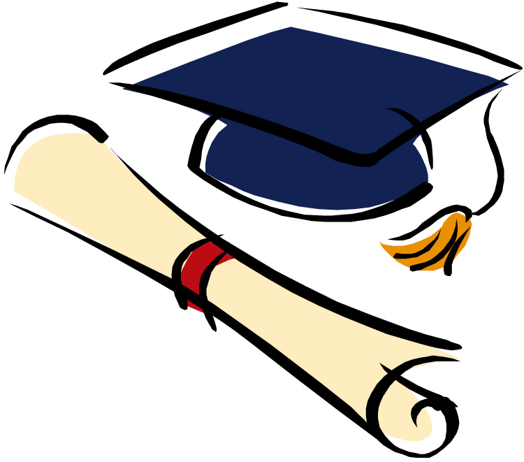 Diploma clipart college diploma.