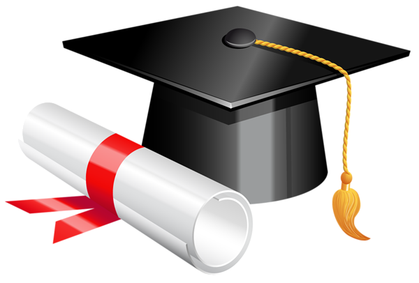2017 cap and diploma png. Graduation clipart picture graphics