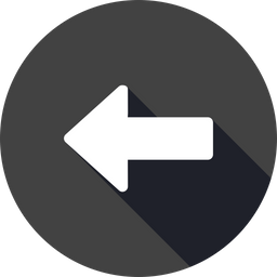 Direction arrow png. Free left way backword