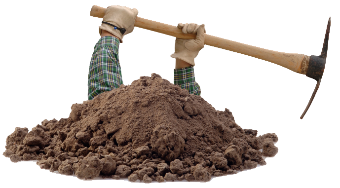 Dirt hole png. Filling the in your