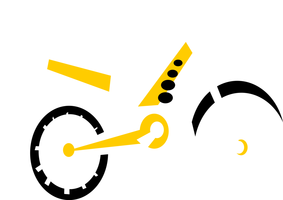 Dirtbike vector. Dirt bike motorcycle image