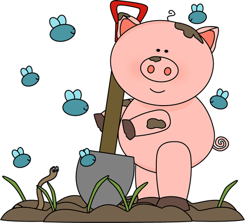 Mud clipart animated. Free dirty pig cliparts