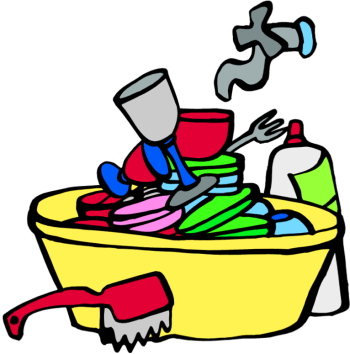 Dirty clipart animated. Dishes clipartsco kitchen clip