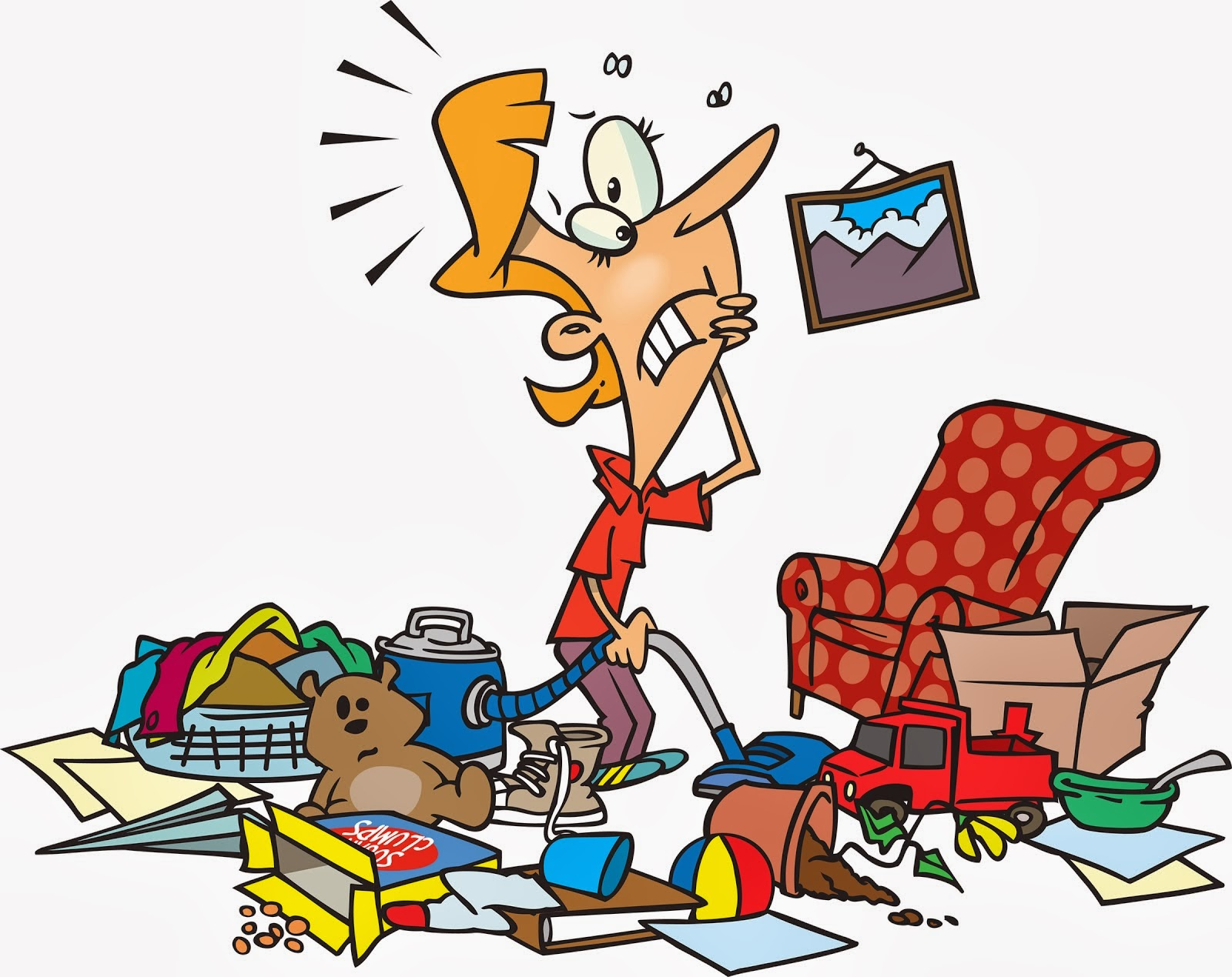 Room clipart animated. Cleaning messy house typegoodies
