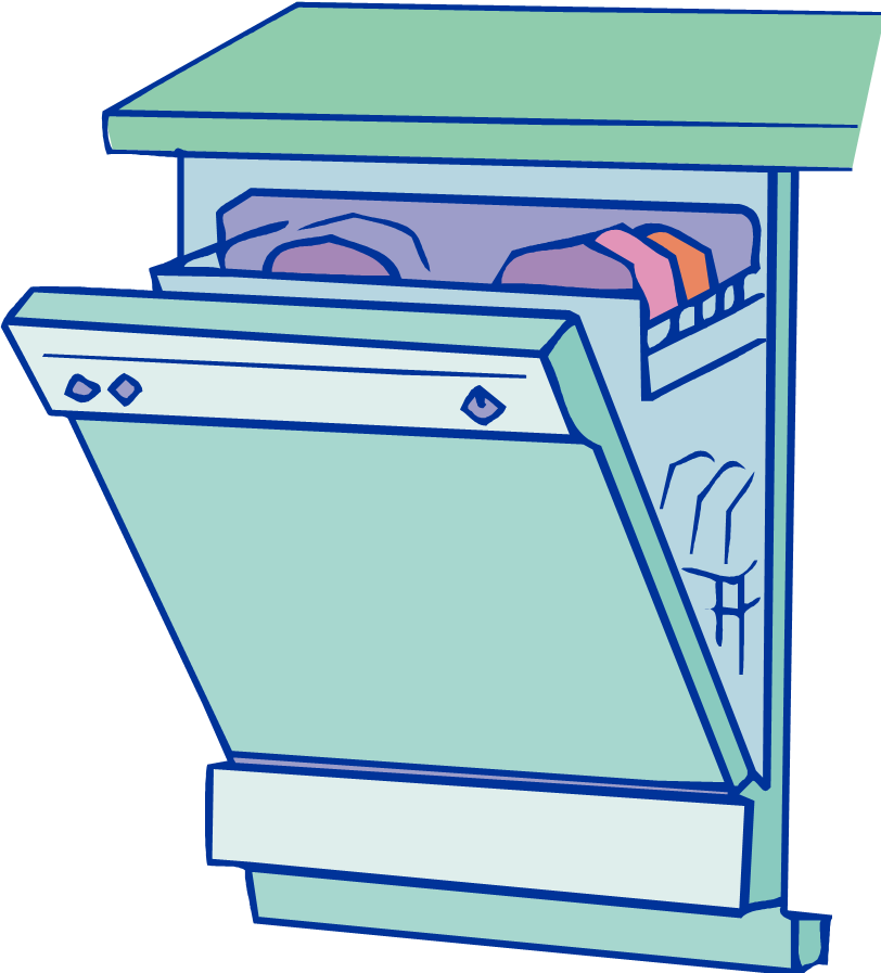 Dishwasher clipart clean dishwasher. Free dirty cliparts download