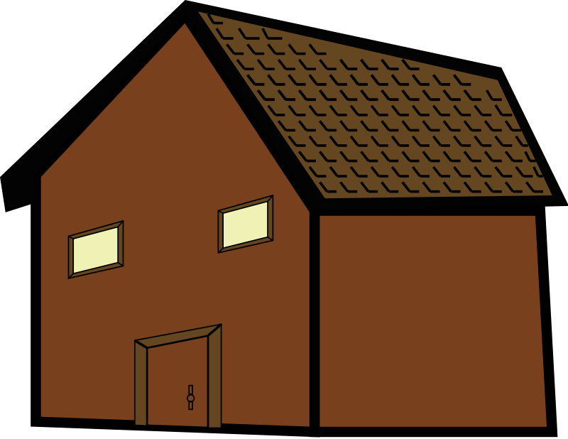 Mansion clipart brown house. Free images download clip