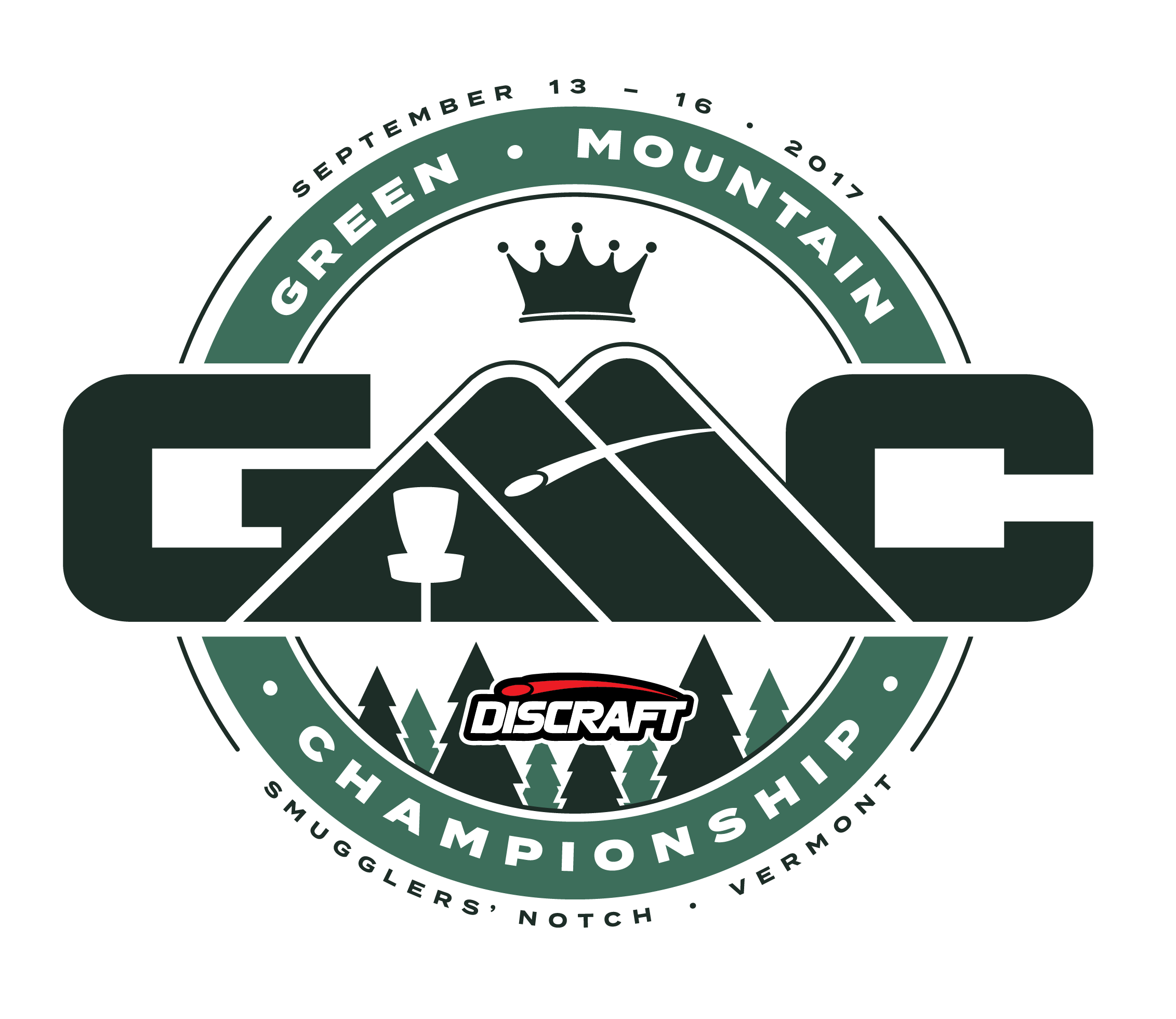 Disc golf png. Green mountain championship smugglers
