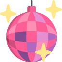 Disco ball icon png. Icons free vector