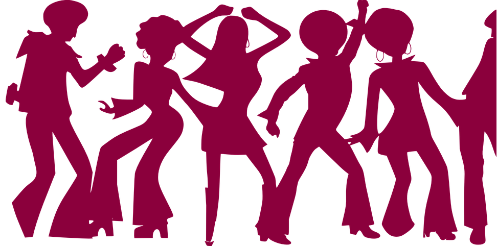 disco clipart family dance