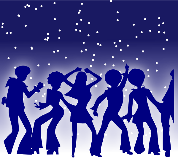 Disco clipart family dance. Dancers clip art at