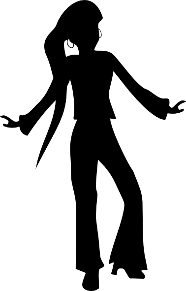 Disco dance png. Dancing woman clip art