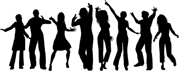 Disco dance png. Hip hop party birthday