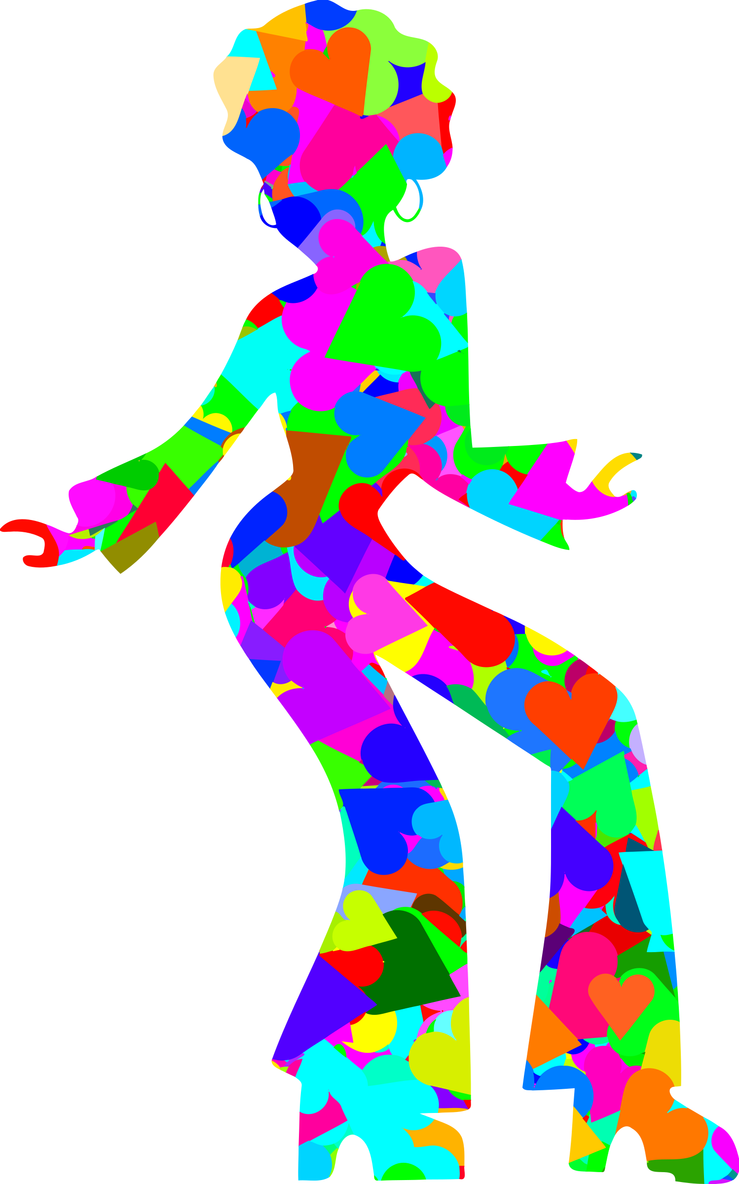 Disco vector colourful. Dancer icons png free
