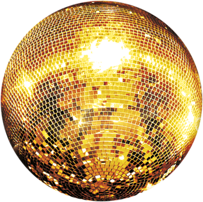 Vector gold disco ball. Images of png spacehero